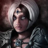 High Priestess Lisaya by Soilworker06