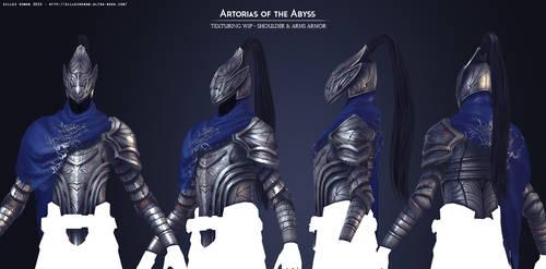 Artorias of the Abyss Texturing WIP