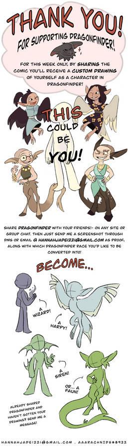 Get Dragonfinder art... for FREE!