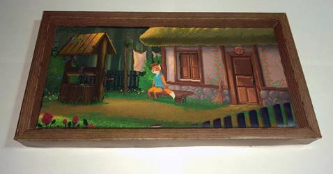 TailFox paper diorama #1 - Home (2)