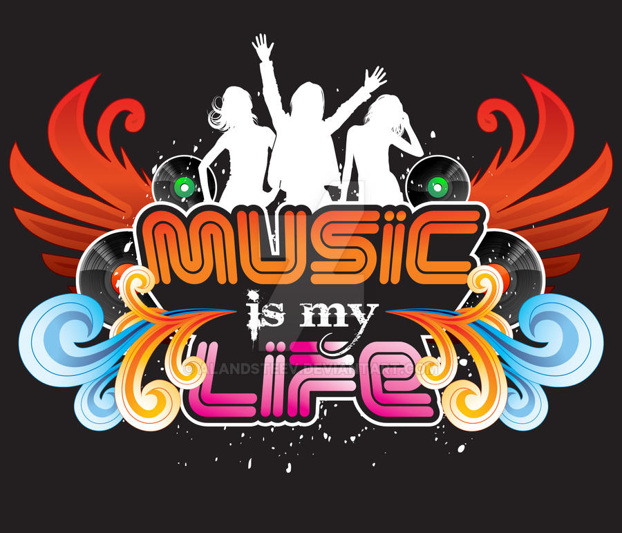 Music Is My Life By Alandsteev