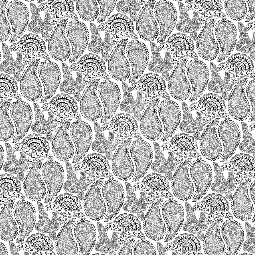 Image Result For Paisley Pattern Coloring
