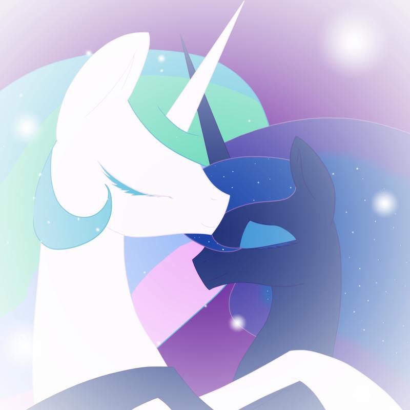 Sleeping Princesses by SilverFlitterDragon