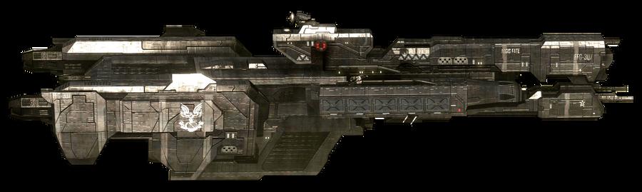 H3 UNSC Charon-class Light Frigate Aegis Fate by ToraiinXamikaze