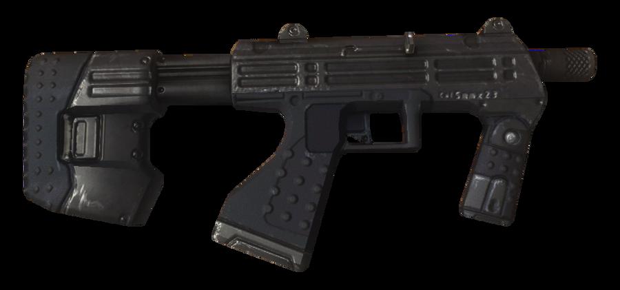M7 Submachine Gun by ToraiinXamikaze