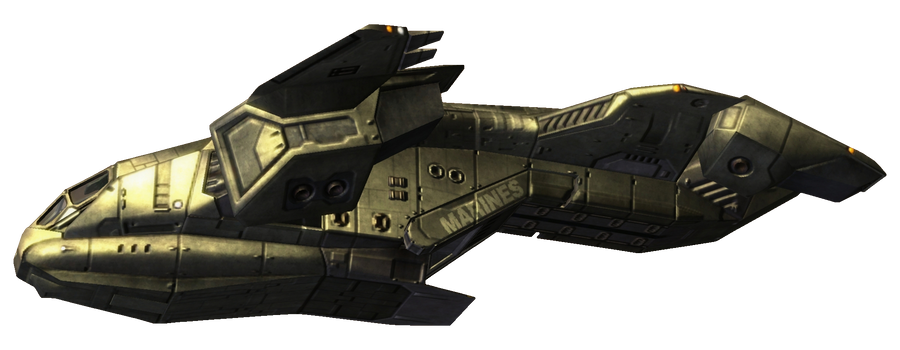 Halo2 Pelican Dropship by ToraiinXamikaze