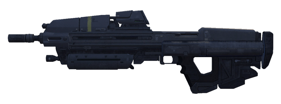 Reach MA37 Assault Rifle by ToraiinXamikaze