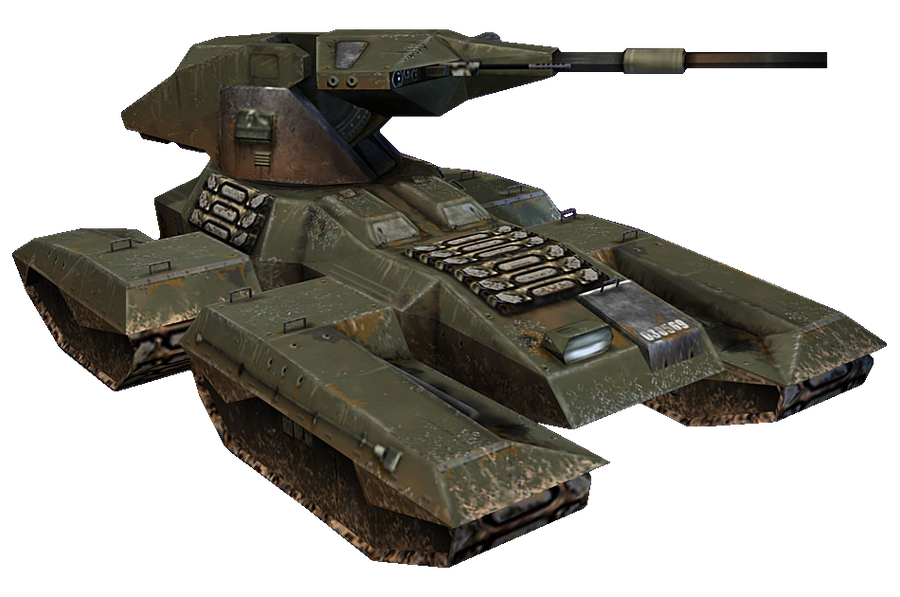 HaloCE M808B Scorpion MBT by ToraiinXamikaze