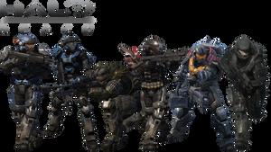 Halo Reach Noble Team