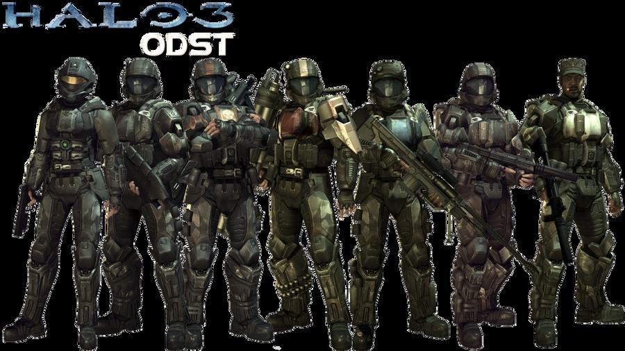 Halo 3 ODST Squad by ToraiinXamikaze