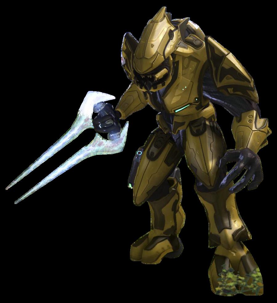 Halo 3 Sangheili Zealot 02 by ToraiinXamikaze