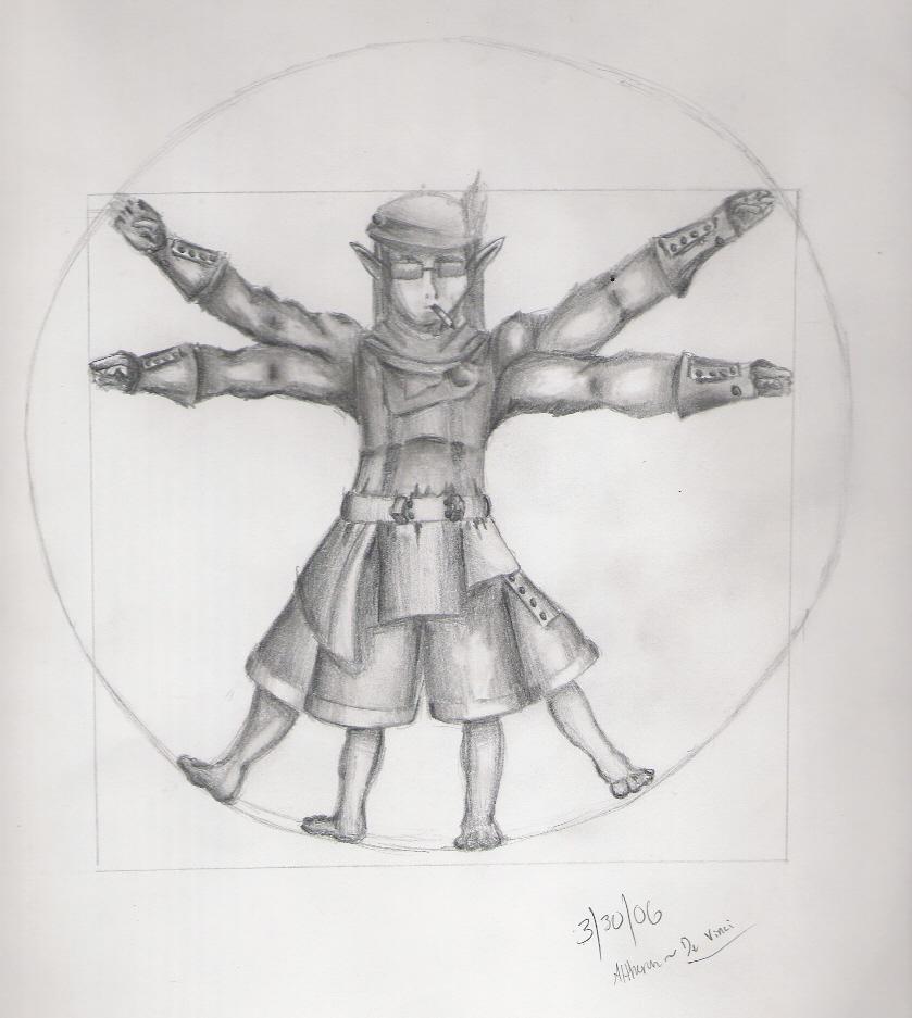 De Vinci FFXI Ranger by Altheran