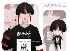 adoptable auction #006 | OPEN by pompomfroggy