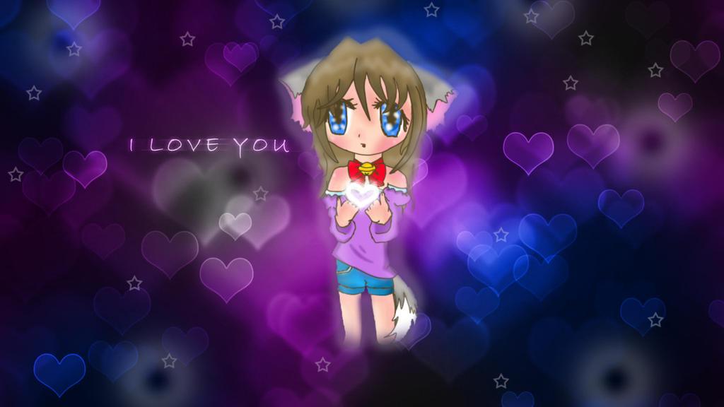 Image Result For Anime Girl Love Wallpaper