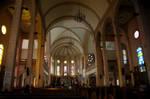 Inside a Church in Baguio