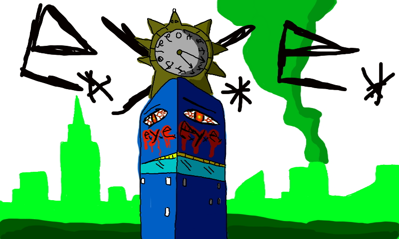 E.Y.E. SURVEILLANCE TOWER by jayce793