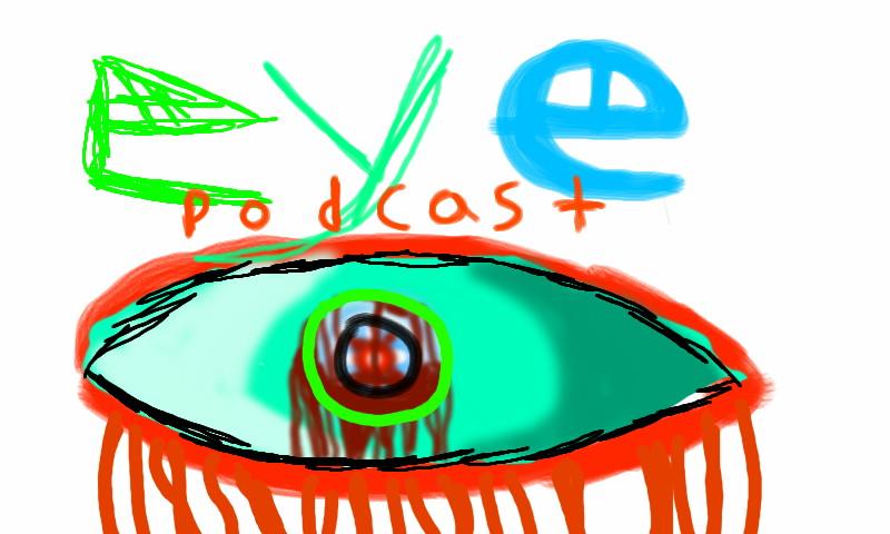 EYE PODCAST ROUGH LOGO by jayce793