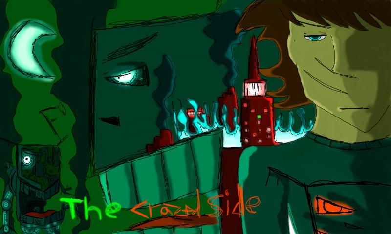crazed side animatronic art by jayce793