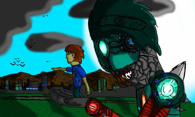 hayate's titan by jayce793