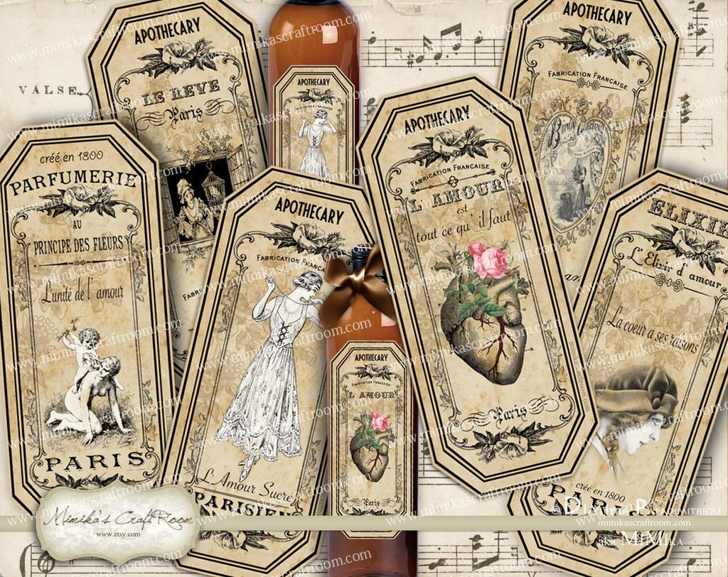 Vintage Labels For Jars Www Topsimages Com