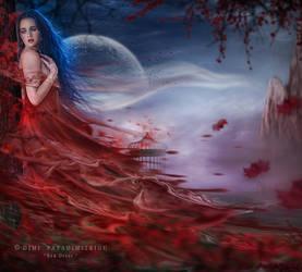 Red Dress by mimikascraftroom