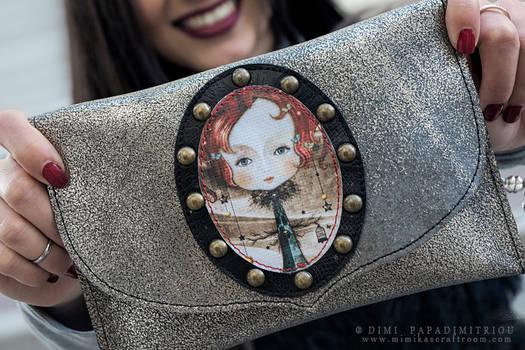 Leather Purse Lady Midnight