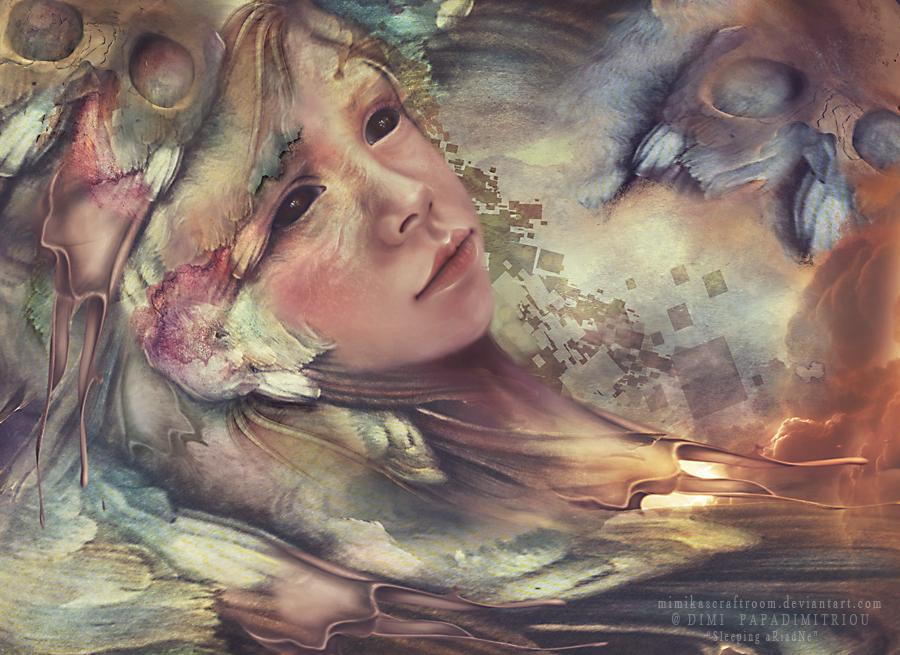 Sleeping Ariadne by mimikascraftroom