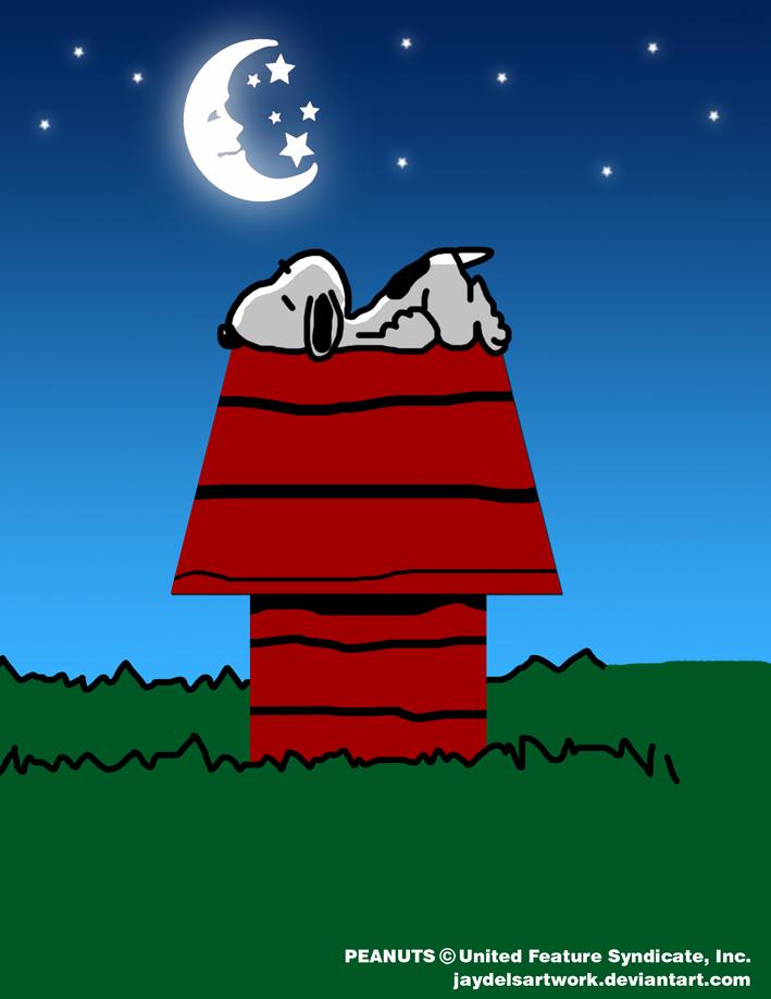 good night snoopyjaydelsartwork on deviantart