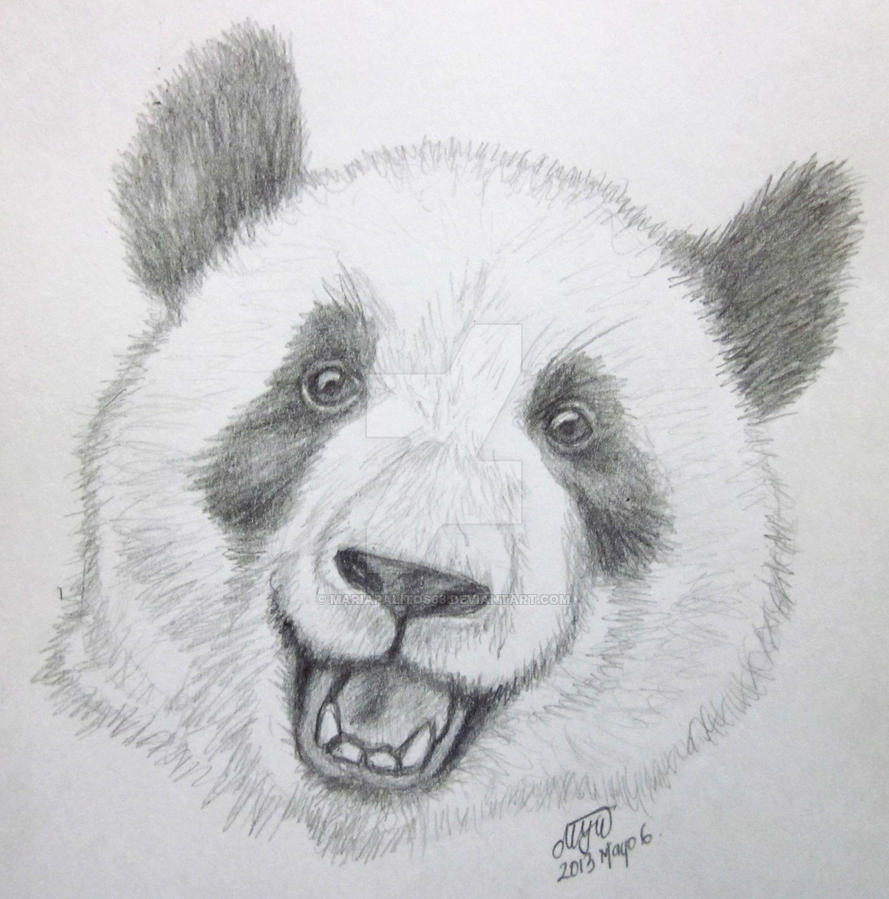 Happy Panda by mariapalitos68