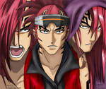Abarai Renji Digital Colour