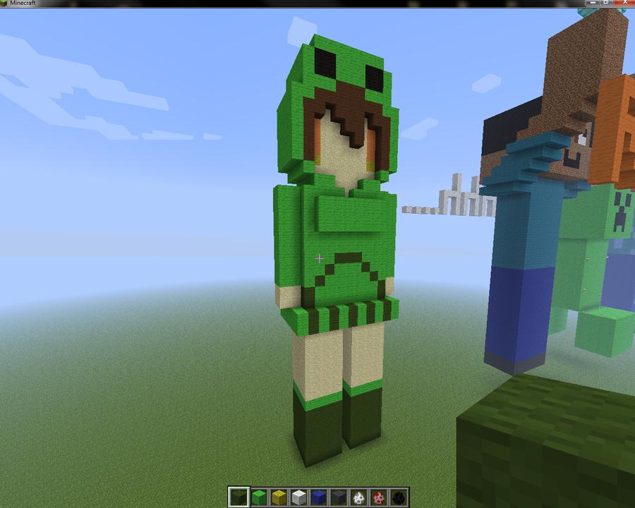 Minecraft creeper girl by ismalz1 on deviantart minecraft creeper girl by ismalz1 voltagebd Gallery