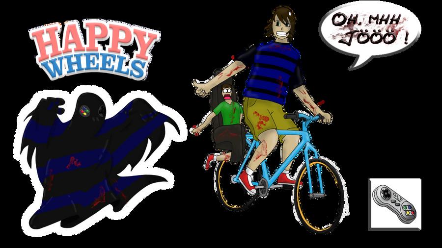 Germanletsplay happy wheels by reflexanjor on deviantart - Let s play happy wheels ...