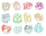 Zodiac Girls 2.0