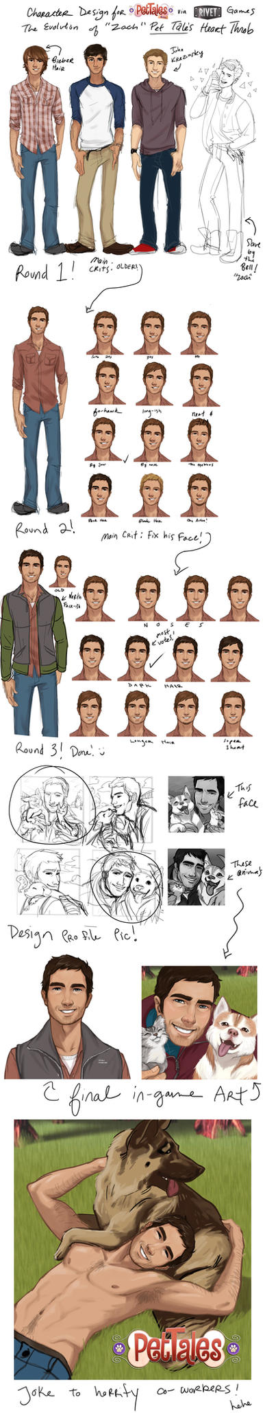 Character Design 'Zach' by babsdraws