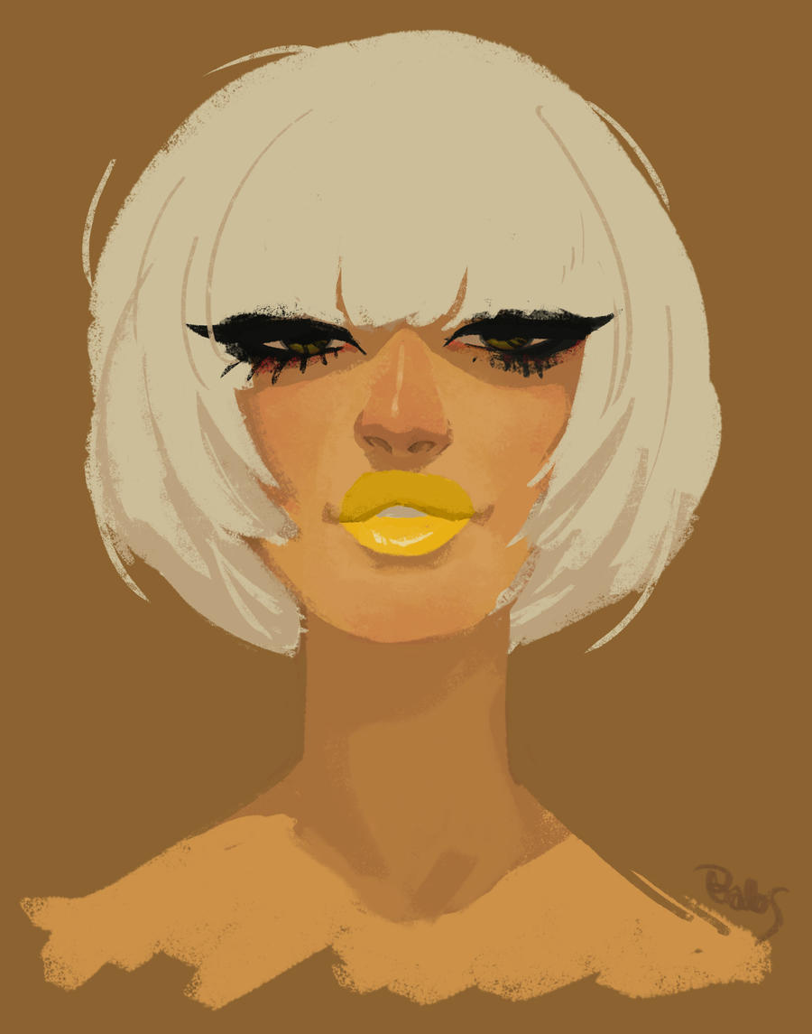 Yellow by babsdraws