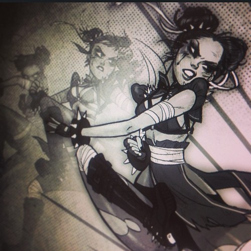 Chun-Li Progress Preview! by babsdraws