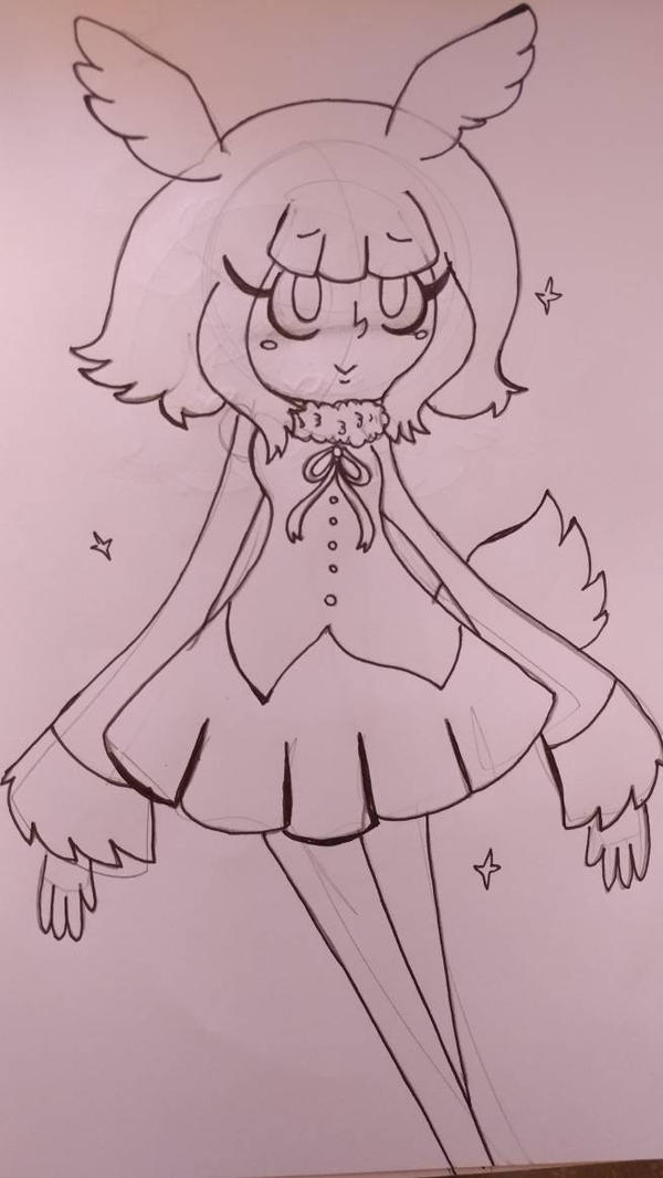 crested ibis by pineapplethatisall