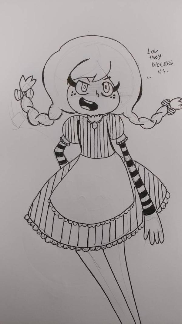 smug Wendy's girl by pineapplethatisall