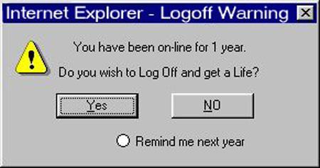 Funny error message by sp33dd3mon