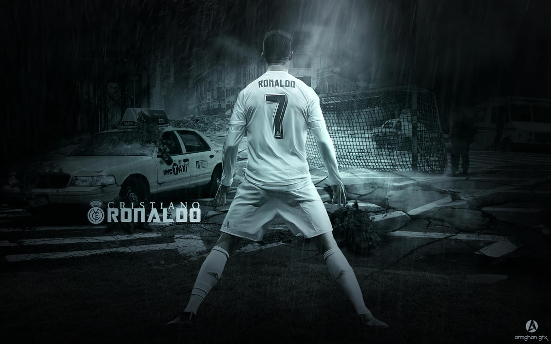 Cristiano Ronaldo Wallpaper 2016 By Armghan11
