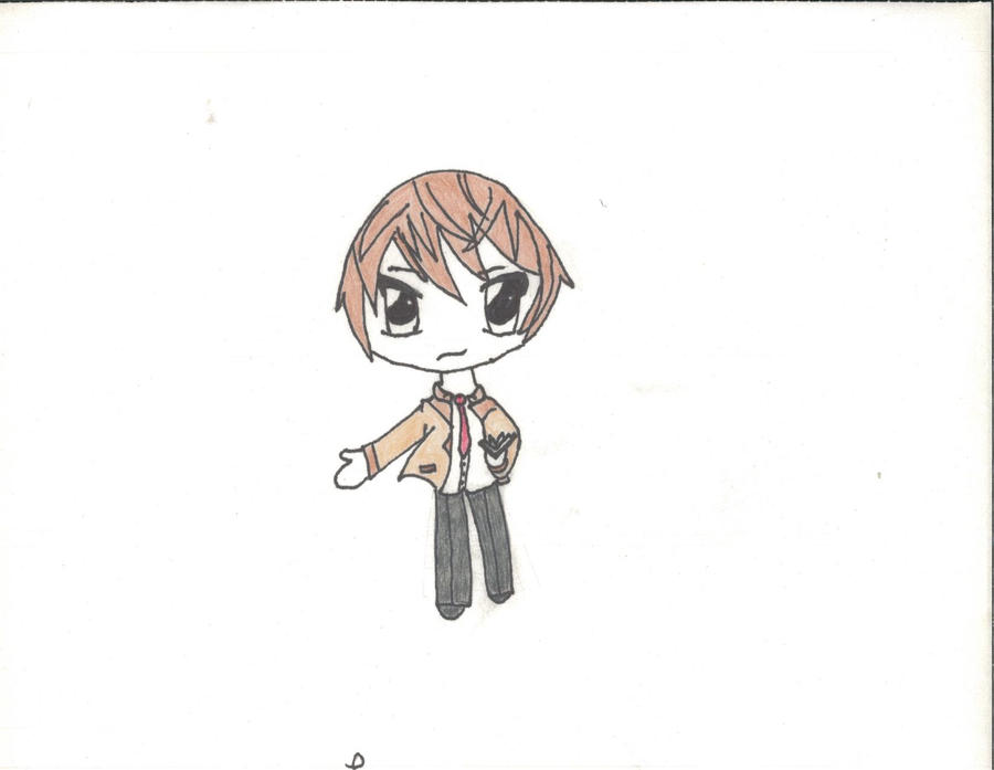 Light Yagami And L Chibi | www.imgkid.com - The Image Kid ...