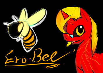 My O.C. pony :ERO-BEE by FILLIST