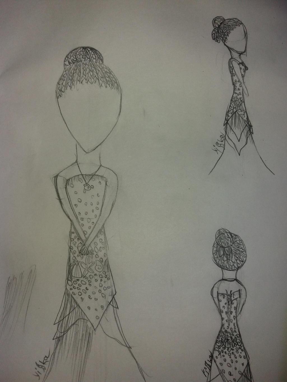 Uma's ball gown by yiska13