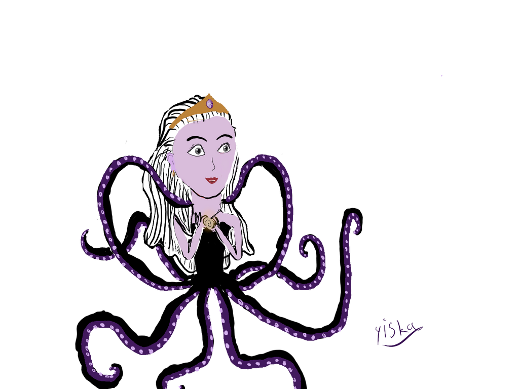 princess ursula by yiska13