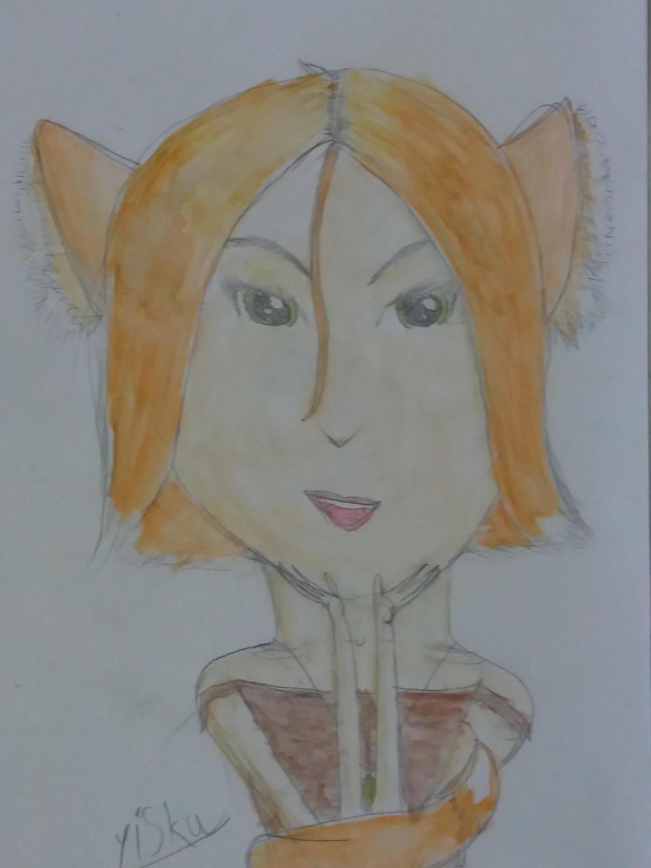 a fox-girl by yiska13