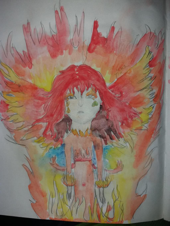a phoenix by yiska13