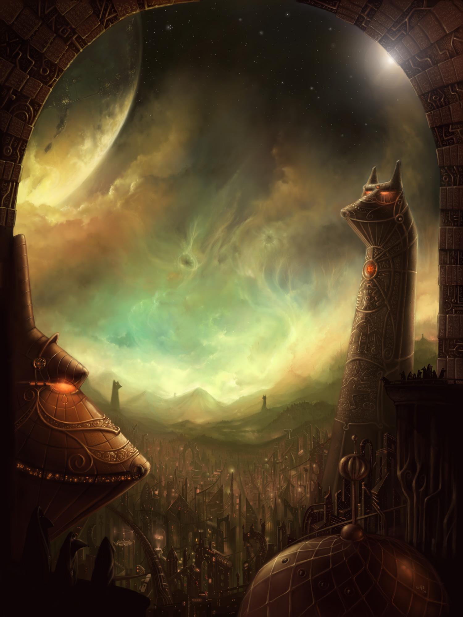 In the Haze   final piece by Bakenius