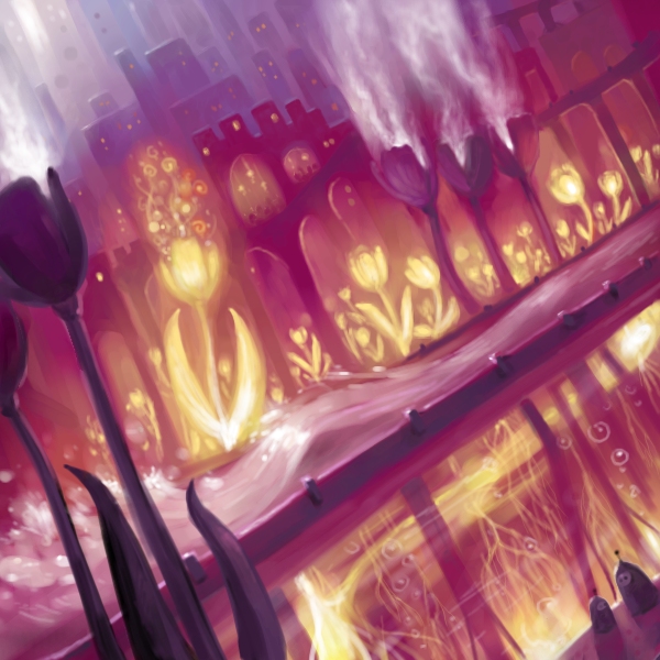 Tulip City by Bakenius