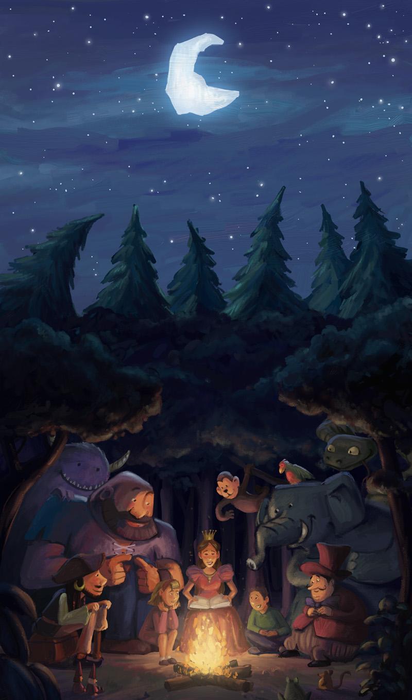 Storytelling time by Bakenius