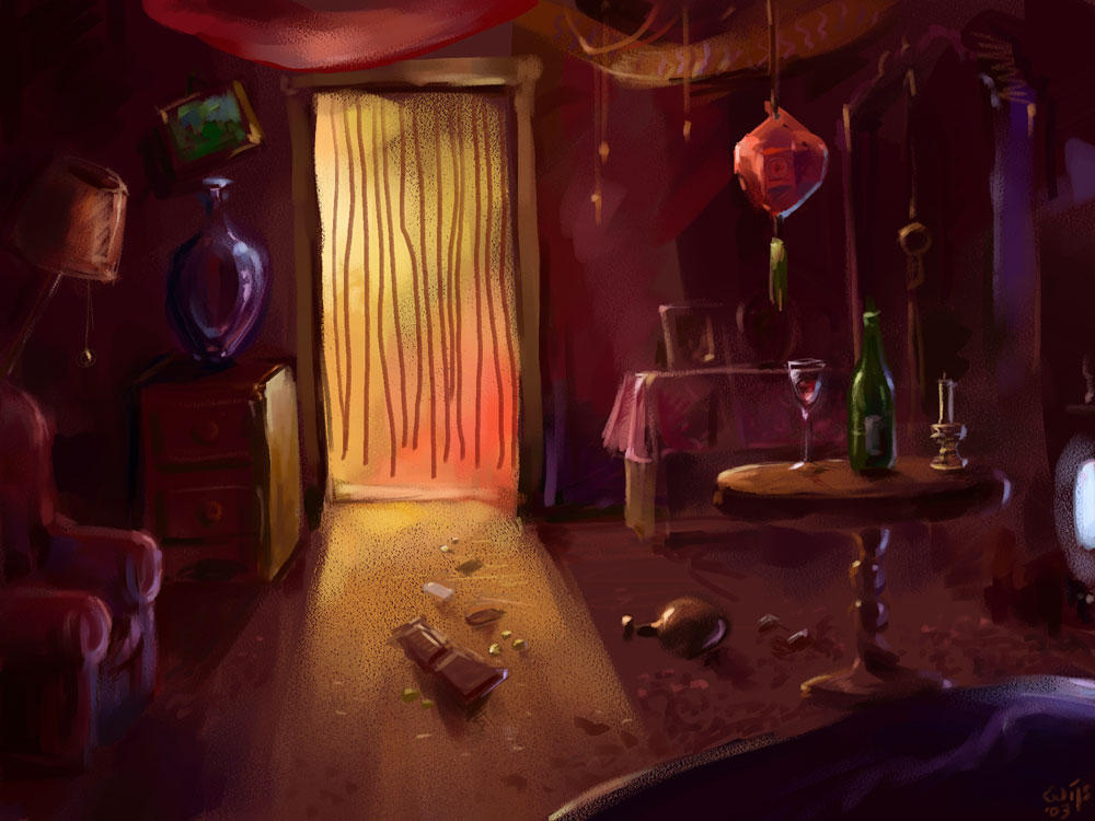 Mysterious Room by Bakenius